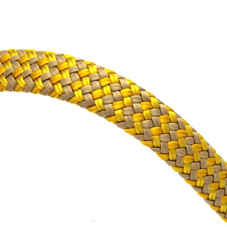 Polyester Technora mantel geel
