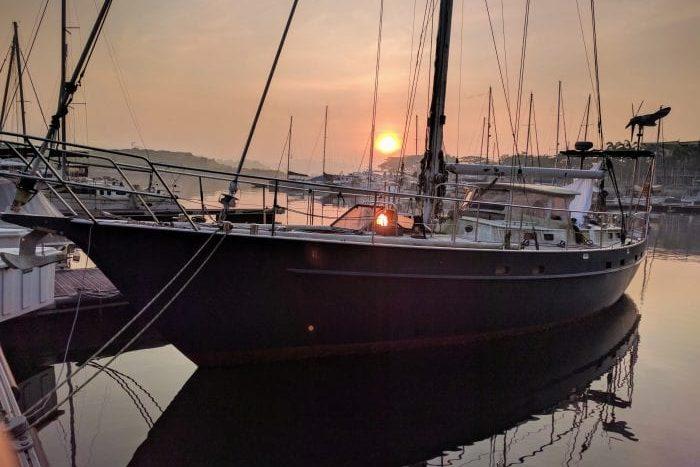 Blue Beryl Sailing